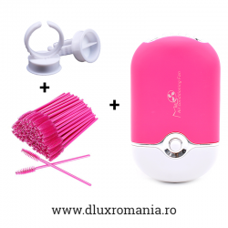 SET - PERIUTE HOT PINK + VENTILATOR ROZ + INELE