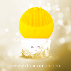 DISPOZITIV DE CURATARE FACIALA - FOREVER - YELLOW